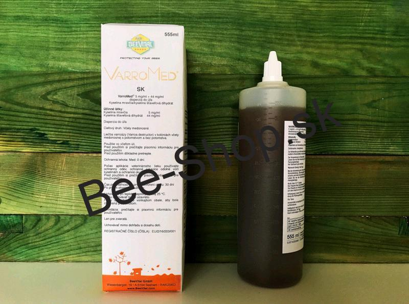 VarroMed 555ml /nahrada za BeeVital Hive clean/